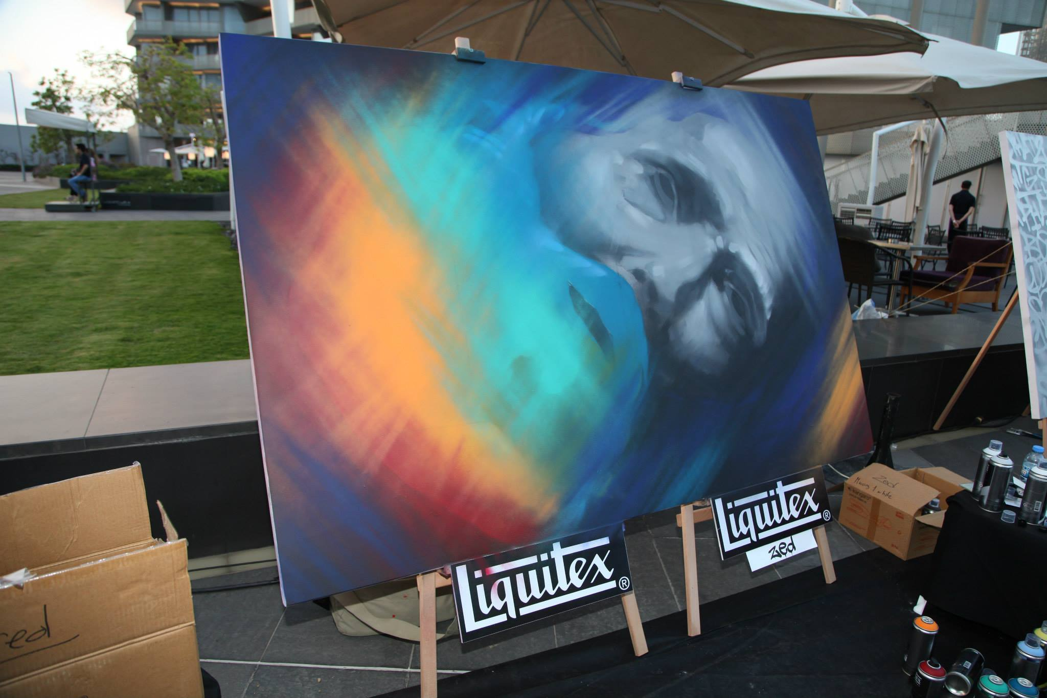 Liquitex Launch Event