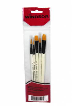 Windsor-Red-Brush-Set