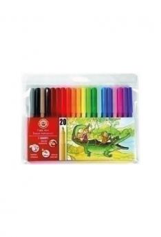 Crocodile---20-Fibre-Pens