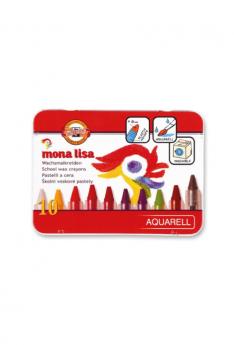 Mona-Lisa-Wax-Aquarell-Crayons