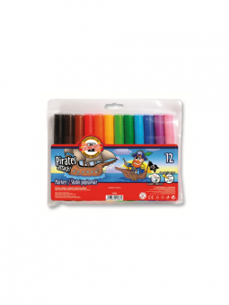 Pirates---12-Jumbo-Fibre-Pens