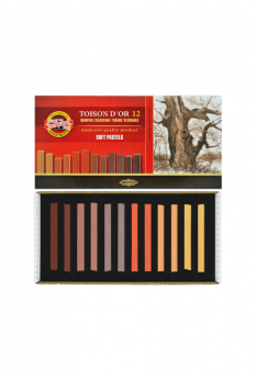Toison-D'Or---12-Soft-Pastels-Brown Set