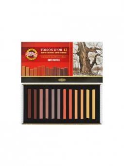 Toison-D'Or---12-Soft-Pastels-Brown Set