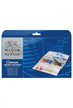 Cotman-Water-Colours-Painting-Plus-(12-Tubes)