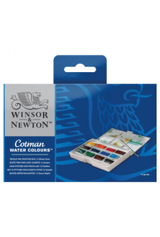 Cotman-Water-Colours-Whole-Pan-Painting-Box