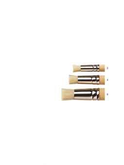 University-Brush---Series-S4-Stencilling-Brushes-Range-Shot