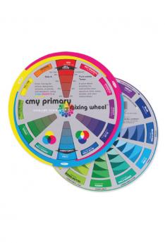CMY Promary Mixing Wheel 13cm & 20cm.