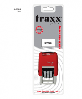 Traxx Printer Ready To Use Date Stamp