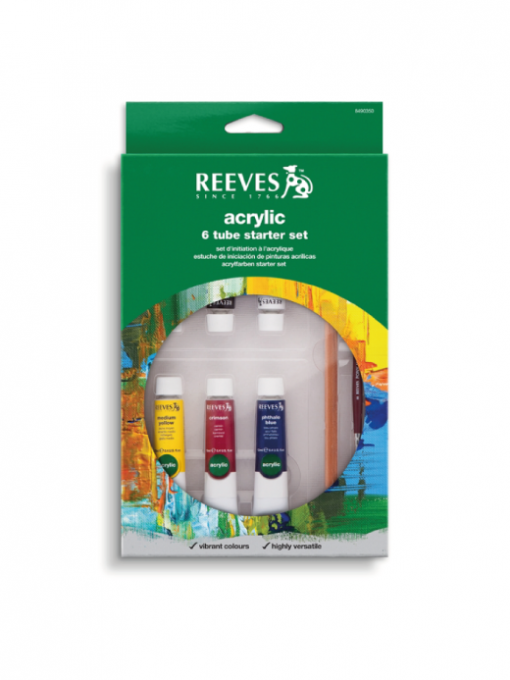 Reeves Acrylic Starter Set