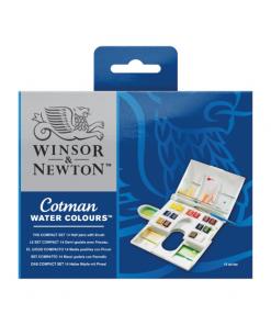 Winsor & Newton Cotman Water Colours Compact Set