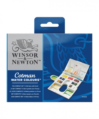 Winsor & Newton Cotman Water Colours Compact Set