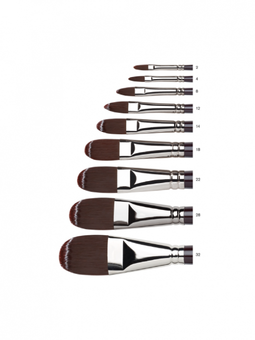 Winsor & Newton Galeria Brushes - Filbert