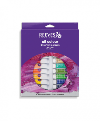 Reeves Oil Color Set