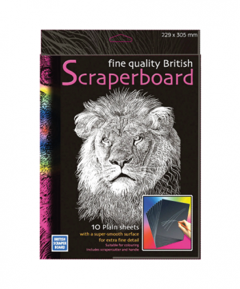 Educational Art & Craft Scraperboard