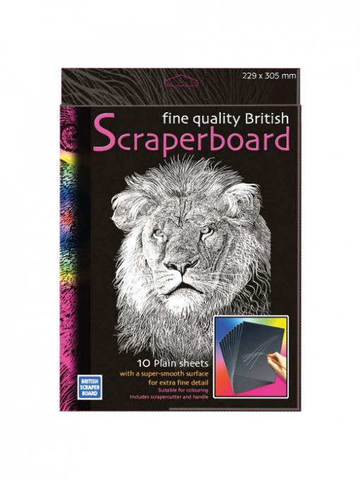Educational Art & Craft Scraperboard