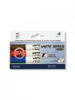 Koh-I-Noor White Board Marker Round Set