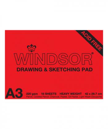 Windsor Drawing & Sketching Pad 220gsm