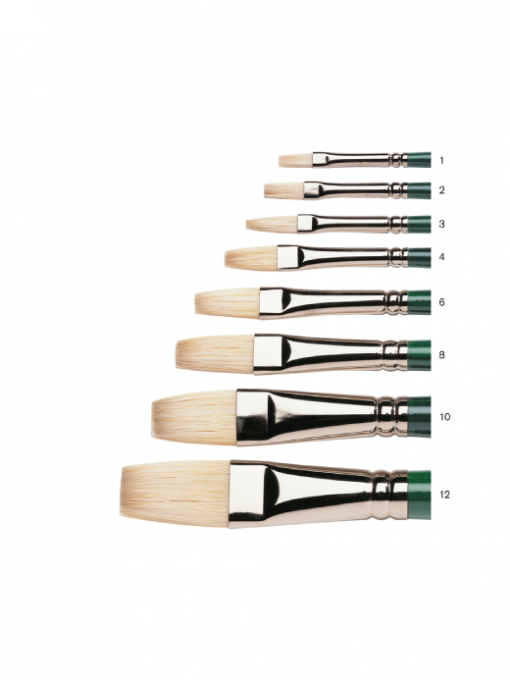 Winsor & Newton Winton Hog Brushes - Flat