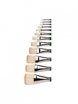 Winsor & Newton Winton Hog Brushes - Short Flat
